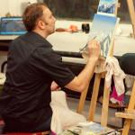 модный художник где рисовать пейзаж живопись обучение курсы спб