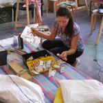 обучение школа живописи уроки живописи лессировки холст этюдник тренога