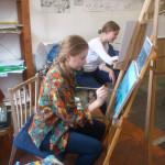 занятия обучение навыки личностный рост креативность энергия развитие гармония рисование копии цвет зрение курсы живописи