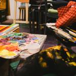 палитра цветотерапия удовольствие смешение красок спб артмуза алексей жуков