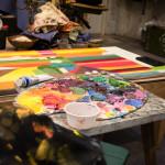 интерьер студии рисуем картины вдохновение хобби вебинары видеоуроки мастер-классы
