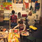рисуем в студии мастерская живописи научиться рисовать записаться на занятие спб питер