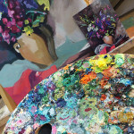 картина маслом копия ярко студия живописи