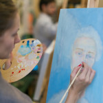 ЗАНЯТИЯ АВАНГАРД стили живописи ван гог вдохновение ИЗОСТУДИЯ обучение рисованию портрет
