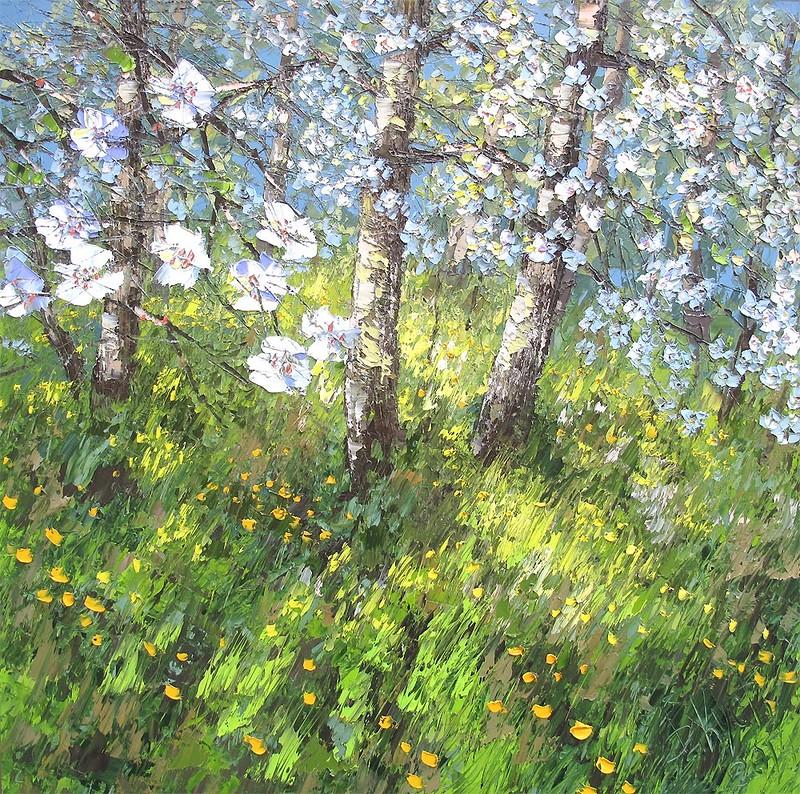 цветы природа лес дмитрий кустанович техника мастерски курсы творчество
