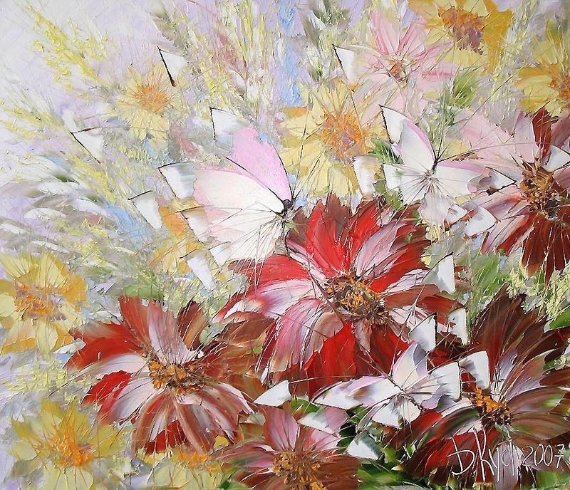 научиться рисовать цветы бабочки мастихин питер студия изо
