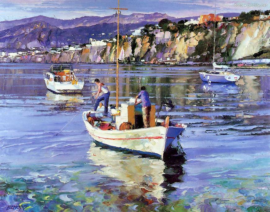 Говард Беренс живопись уроки живописи курсы рисования петербург как рисовать пейзаж