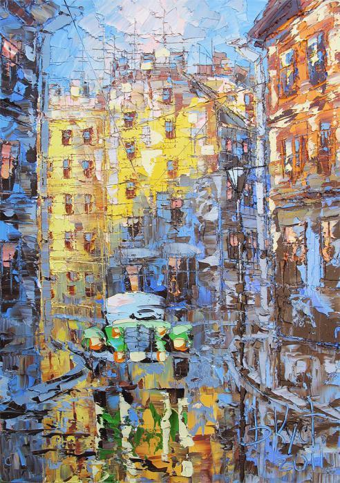 пейзаж кустанович курсы живописи артмуза выставка галерея