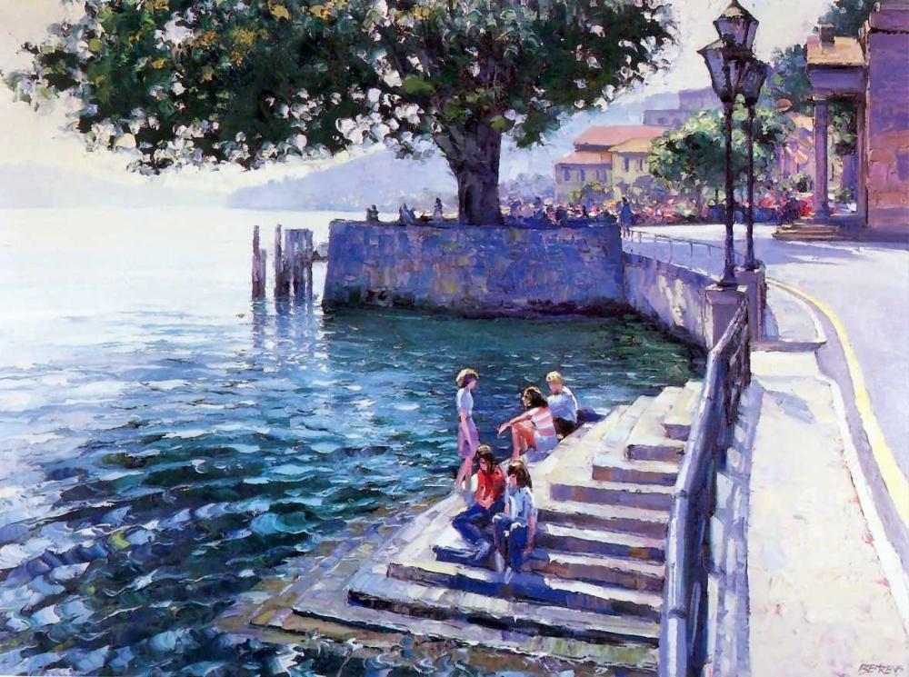 хорватия, отдых, черногория, говард беренс, пейзаж, романтика, море, дорога, горы, курсы живописи, картина своими руками, сделать подарок, нарисовать картину
