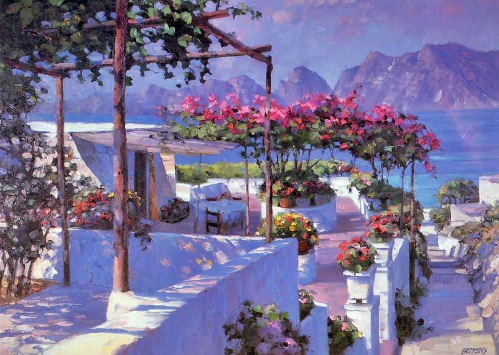 беренс, живопись маслом, креатив, горы, море, юг, европа, италия, недорого обучение