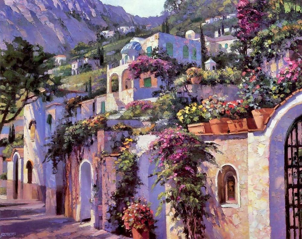 пейзаж, беренс, мастерская живописи, обучение, недорого, европа, лето, солнце