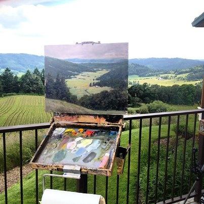 обучение, живопись для взрослых, рисунок, картина