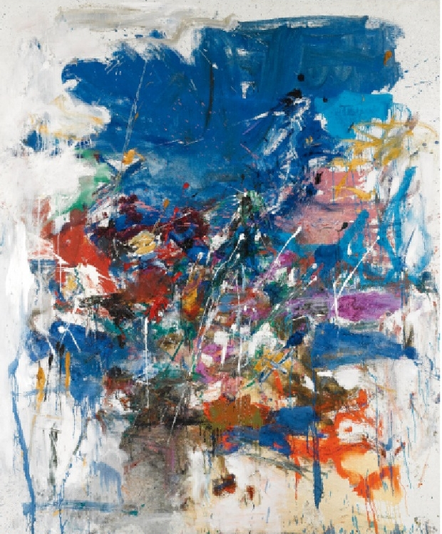 Джоан Митчелл современное искусство как рисовать абстракцию правополушарное рисование