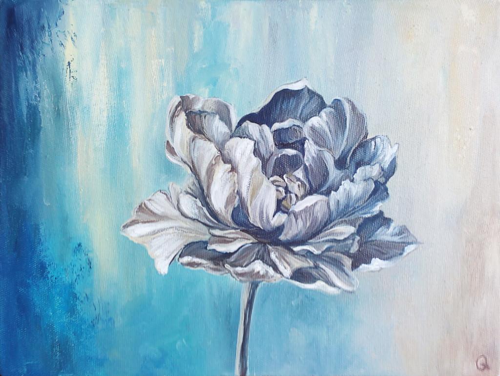 цветы живопись импрессионизм современное искусство артмуза питер