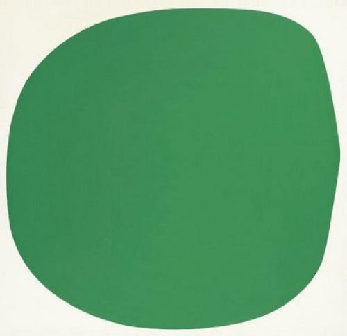 Зелено-белый элсворт келли спорное искусство новые течения тренды пятно зеленый круг нарисовать спб