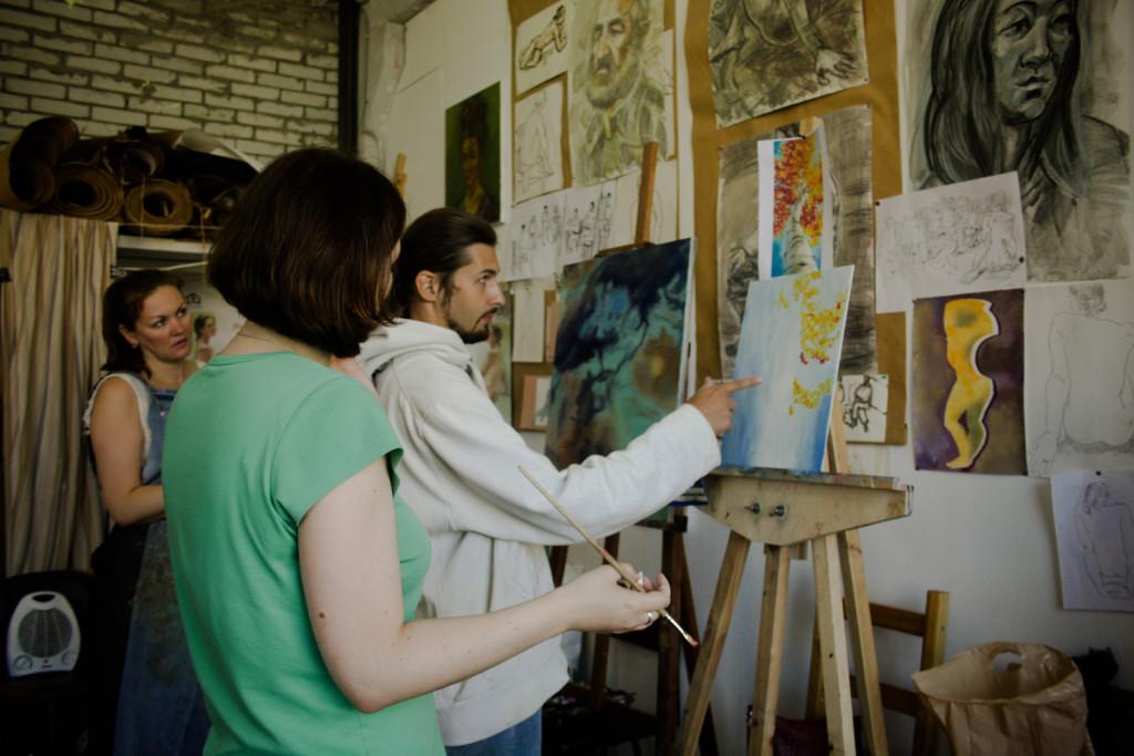грамотно преподаватель мухинское училище современная живопись научиться спб