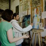 обучение как нарисовать картину быстро советы изостудия курсы живописи для взрослых и детей