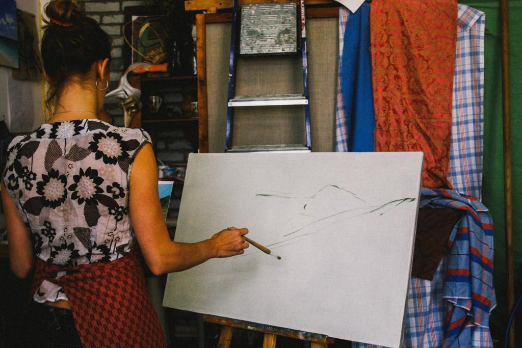 выставки художественный арт позитив приемы живописи питер кофе-брейки студия арт пространство