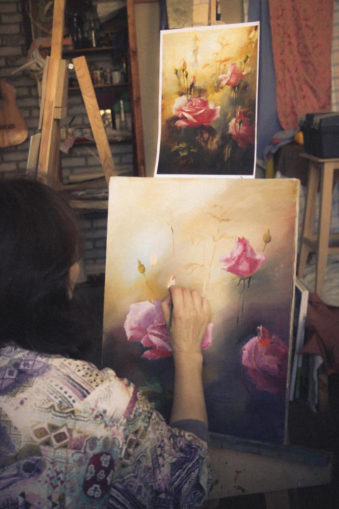 живопись недорого обучение продажа картины рамы копия алексей жуков