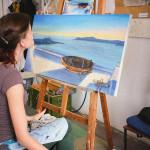море картина интерьер питер развивающее обучение курсы живописи наброскипалитра яркие цвета