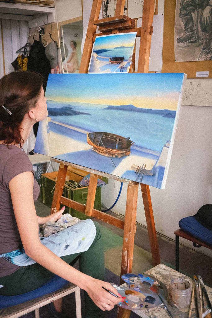развитие креатив умиротворение гармония курсы живописи васька питер артмуза