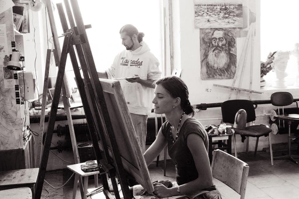 позитив умения навыки знания художник рисовать студия мастерская спб