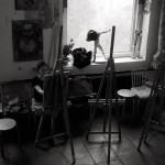 мастерская интерьер живопись роспись обучение живописи искусство привелегия хобби красота
