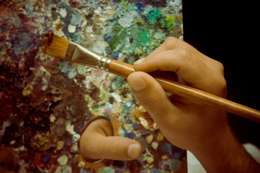 живопись творчество алексей жуков художники импрессионизм палитра краски