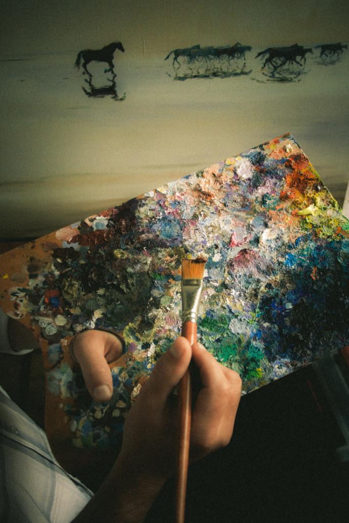 хобби престижно картины маслом живопись в подарок нарисовать картину