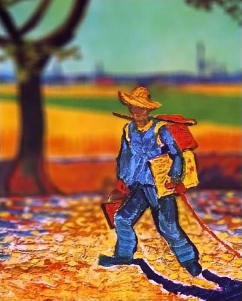 пленэр занятия в студии лекции семинары живопись обучение уроки живописи спб питер васька алексей жуков ван гог
