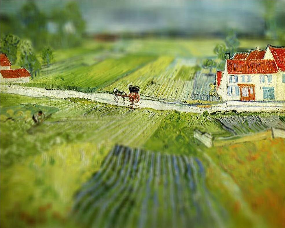 ван гог биография картины техника живописи креатив развитие памяти внимания вкуса интеллекта отдых хобби курсы живописи