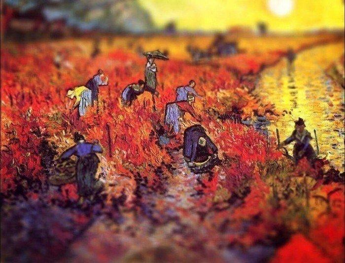 курсы живописи алексей жуков спб творческая студия ван гог красные виноградники копия картина маслом шедевры живописи