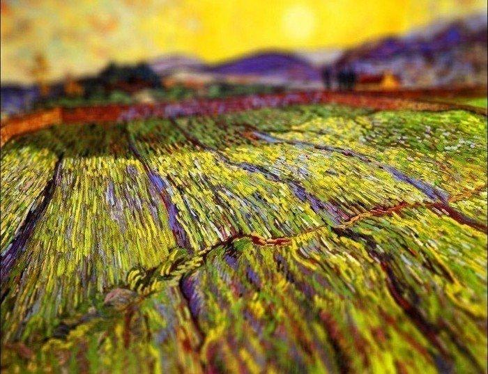 ван гог картина своими руками нарисовать пейзаж маслом вдохновение удовольствие хобби курсы живописи спб