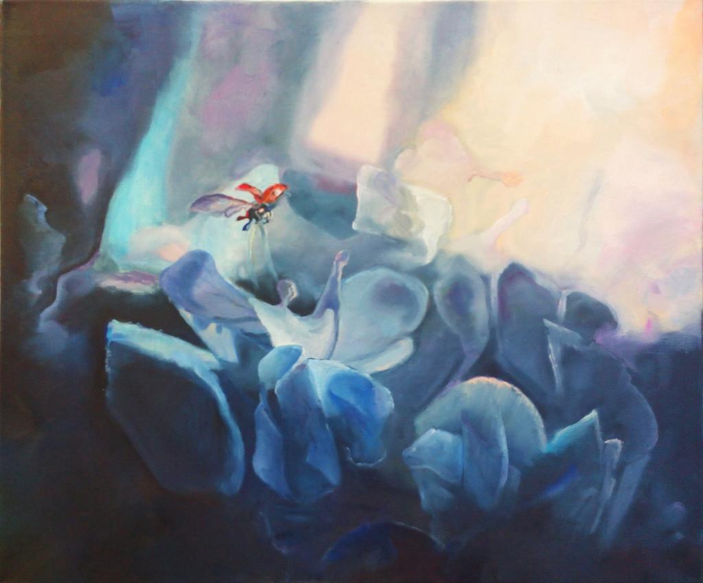 фэнтези цветы божья коровка свет картину в подарок нарисовать абонементы на занятия