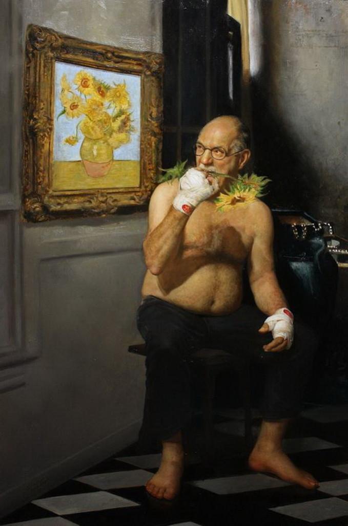 ван гог подсолнухи необычное искусство популярный художник пойти рисовать записаться на занятие купить абонемент подарочный сертификат импрессионизм франция