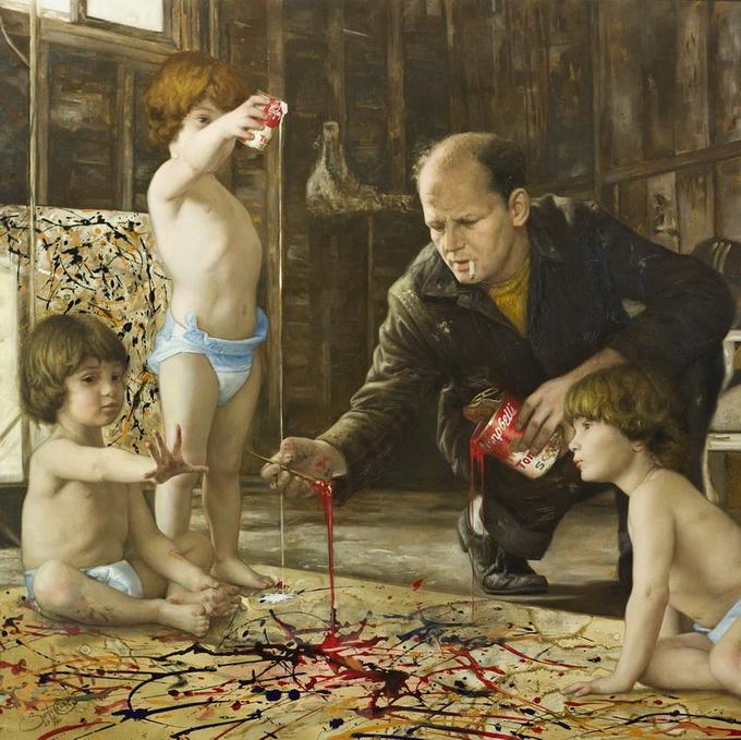 сезар сантос классическая живопись современный художник шедевр картина маслом купить картину портрет по фото пленэр занятия в студии рисование для взрослых детские группы обучение курсы живописи спб артмуза