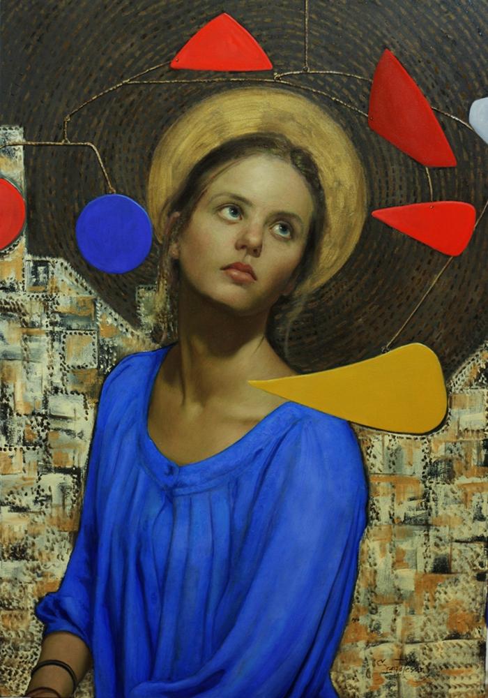 Cesar_Santos_классическое искусство современная живопись модный художник декоративная живопись в интерьер нарисовать картину записаться на занятие курсы живописи