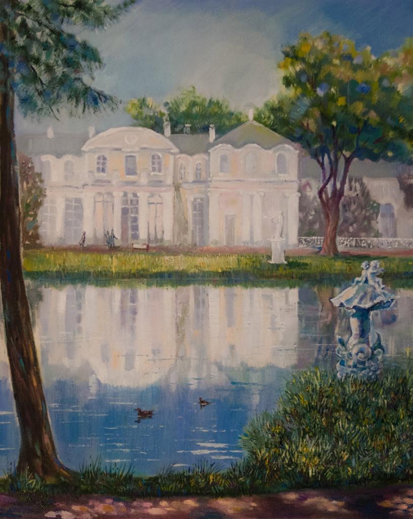 мастер-классы вебинары как рисовать пейзаж картина маслом купить живопись заказать роспись