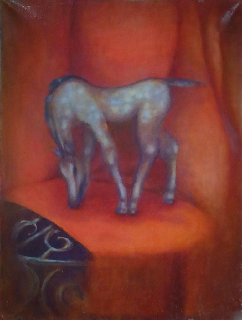 raboty_ychenikov_kyrsy_zhivopisi_petersburg_лошадь конь статуэтка картина маслом итальянский метод лессировок голландский семислойная техника классическая живопись мастер-класс обучение курсы живописи спб