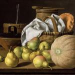 Луис Мелендес Натюрморт с дыней и грушами курсы живописи алексей жуков фрукты натюрморт классическая живопись пойти рисовать как научиться рисовать копии шедевры картина маслом