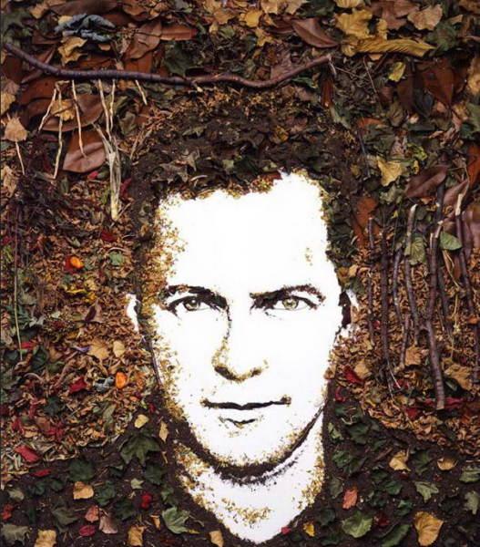 Портрет, написанный сухими листьями, землей и ветками мастер-классы как научиться рисовать где рисовать в петербурге курсы живописи алексей жуков артмуза