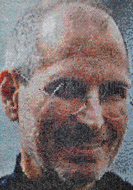 картина из воздушно-пузырчатая пленка стив джобс знаменитости портреты картины с чего начать рисовать масло живопись