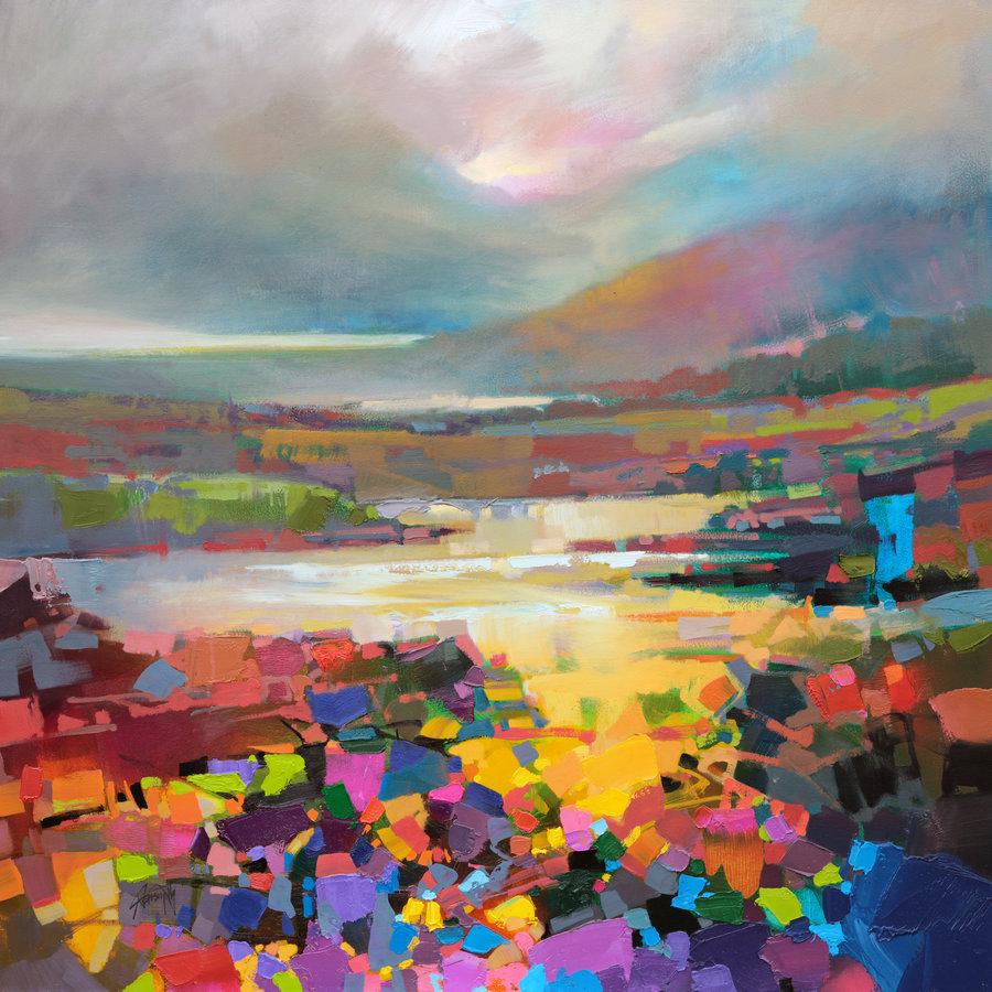 кубизм авангард творчество скот нейсмит вдохновение мазок краски