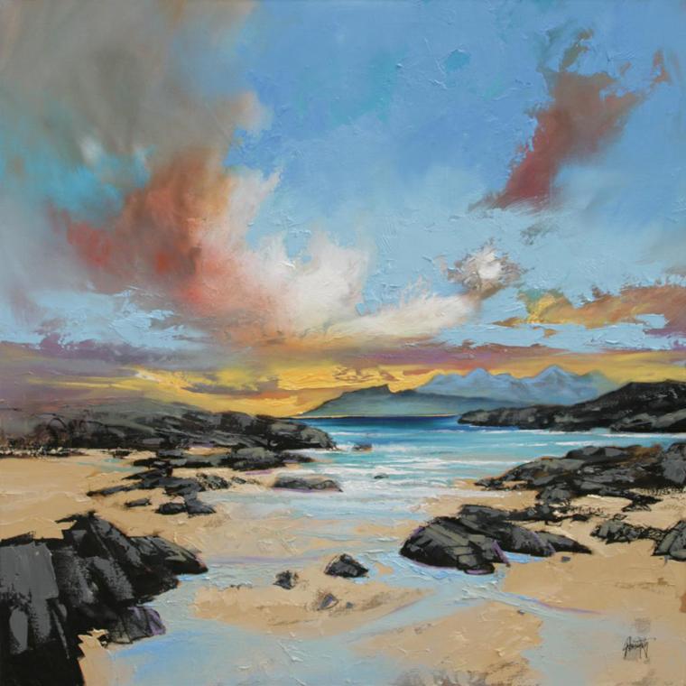 воздух ветер пространство в картине композиция пейзаж глубина пространства силуэт мазок живопись маслом
