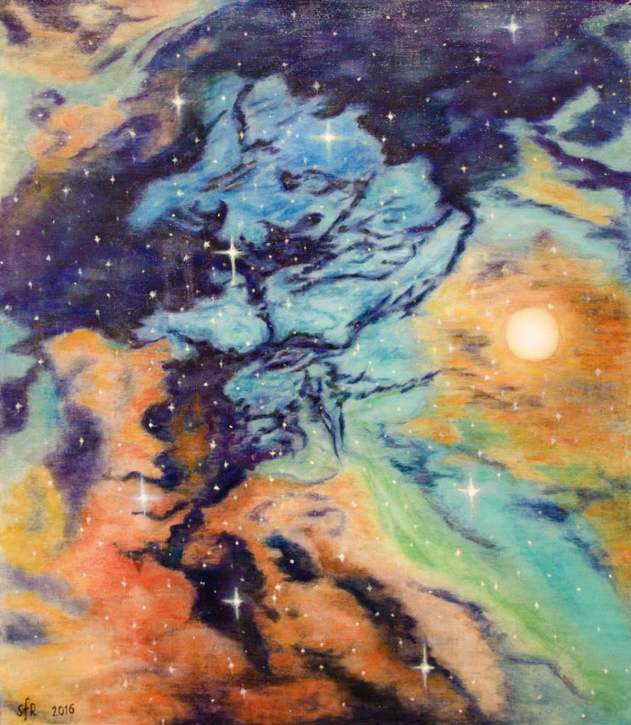 raboty_ychenikov_kyrsy_zhivopisi_petersburg космос работы учеников фото студия пойти рисовать лессировки живопись старых мастеров