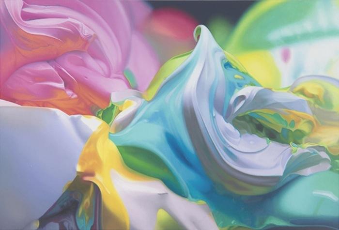 Ben Weiner Body Party фактура краски мастихин поп-арт классицизм современное искусство импрессионизм дали ван гог бен вайнер записаться на занятие по живописи спб васька рядом с метро