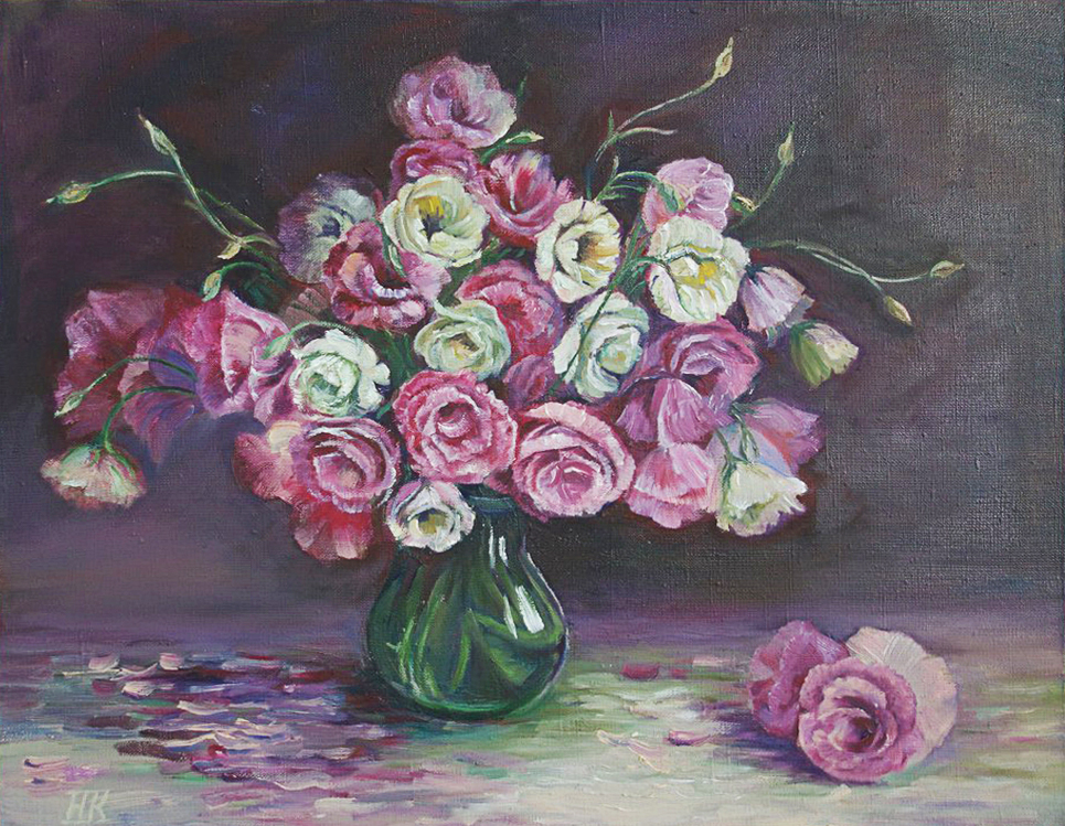 студия живописи артшкола как рисовать цветы маслом импрессионизм реализм возрождение артмуза спб