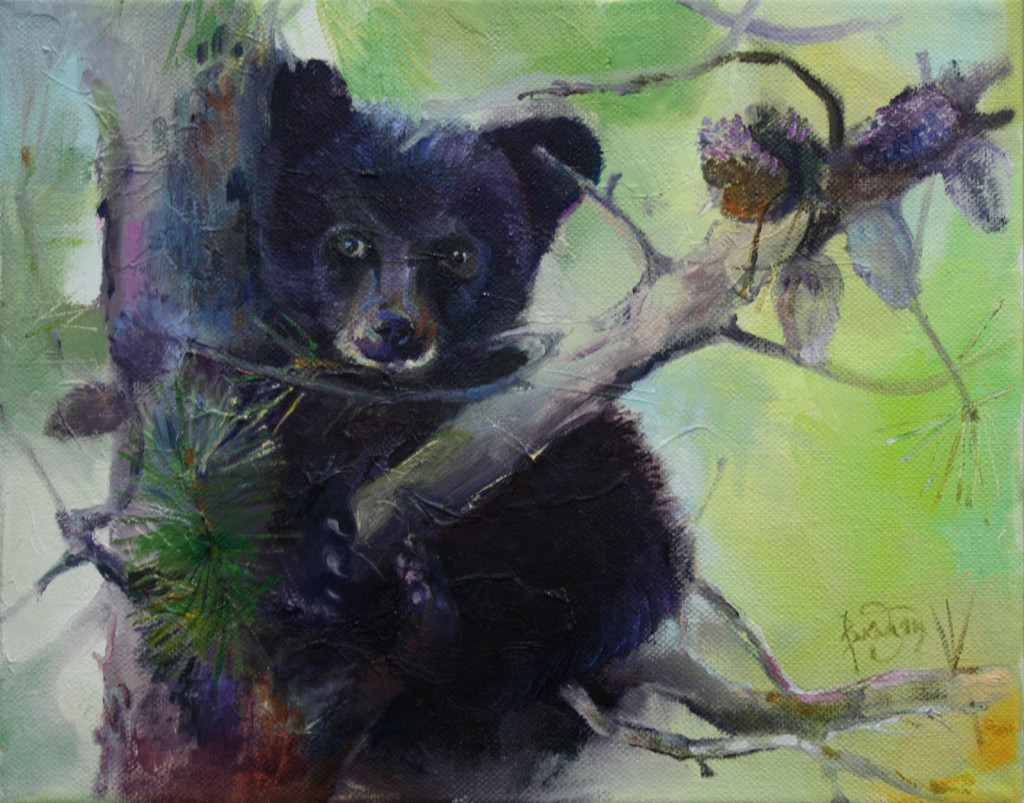 медведь сосна ветка пейзаж как рисовать зверей живопись маслом видеоуроки вебинар мастер-классы пленэры самоучитель по живописи рисование для взрослых