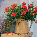 цветы натюрморт розы полевые цветы корзина ваза импрессионизм артстудия васильевский остров как научиться рисовать живопись для начинающих