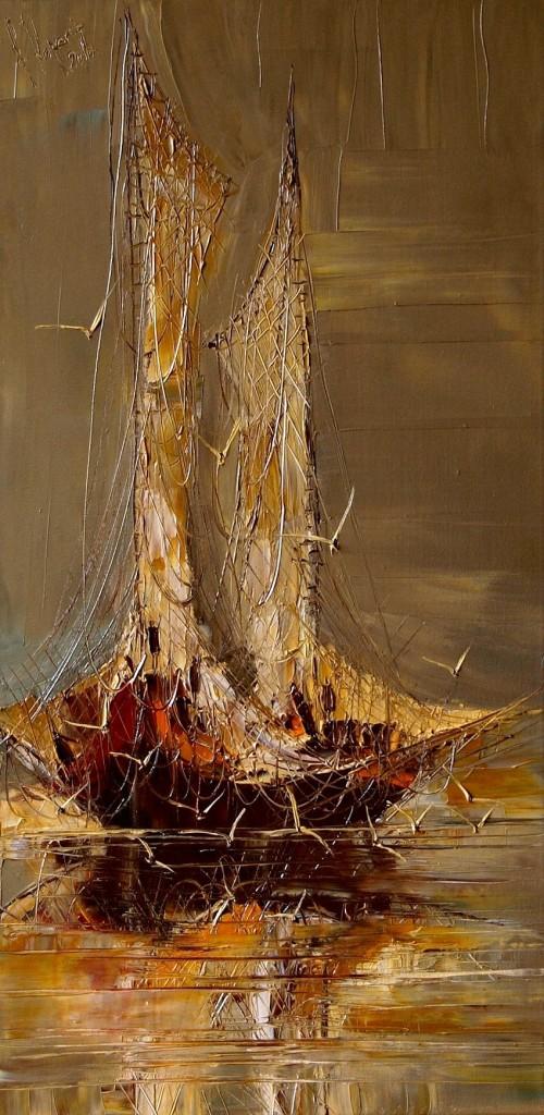 корабль юстина копанья современные художники арт-объект купить живопись маслом пойти рисовать занятия творчеством искусство алексей жуков